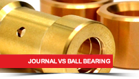 Journal Bearing vs Ball Bearing