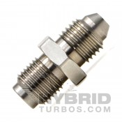 """Turbo Oil Inlet Adapter - 7/16in to -4 JIC, GT Ball Bearing Style - 0.040"""" Restrictor"""
