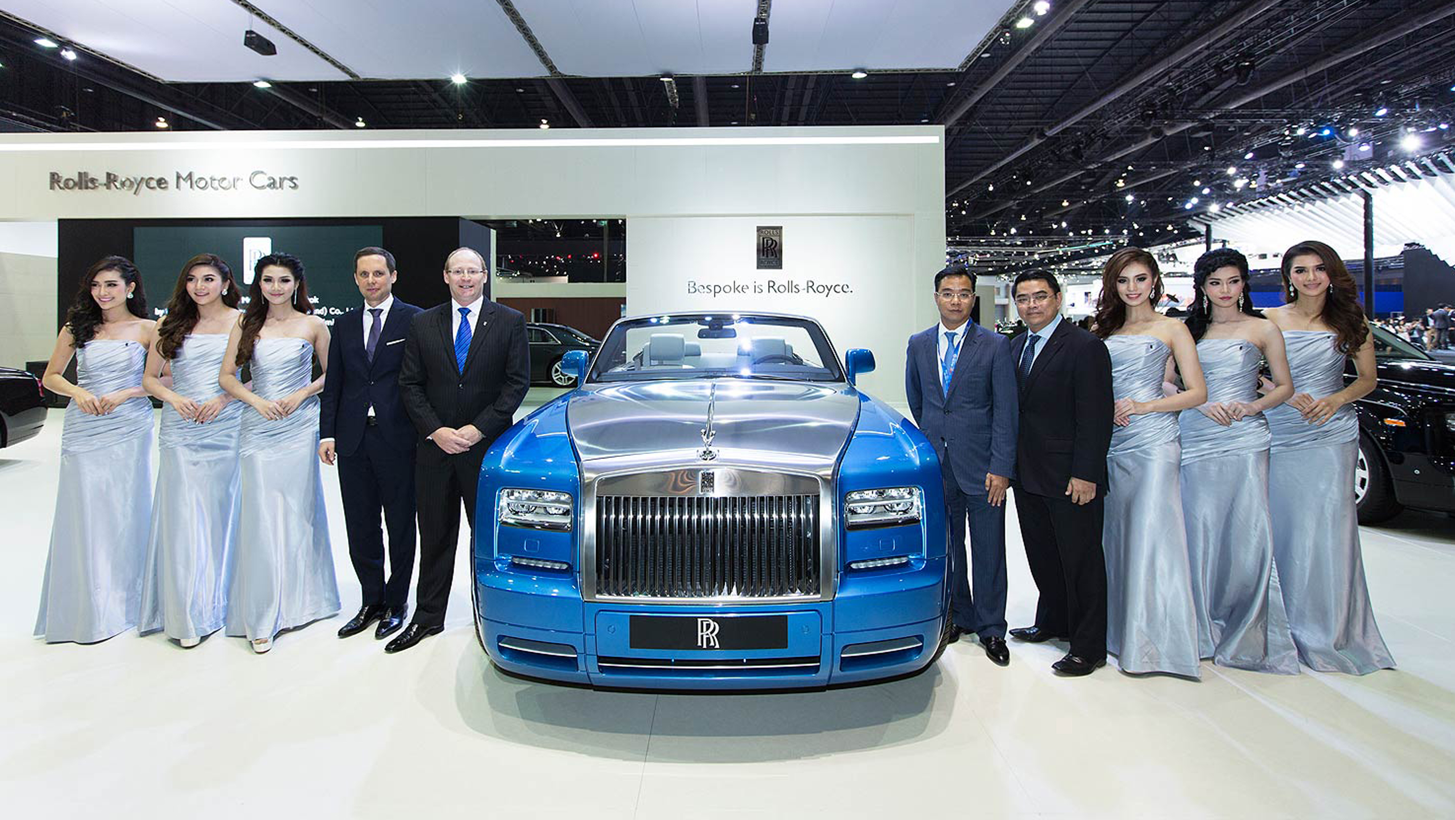 Hybrid Turbos blog post Bangkok Motor Show Rolls-Royce Phantom Drophead Coupé Waterspeed Collection