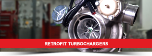 Retrofit Turbochargers