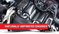 Turbocharging a naturally aspirated engine